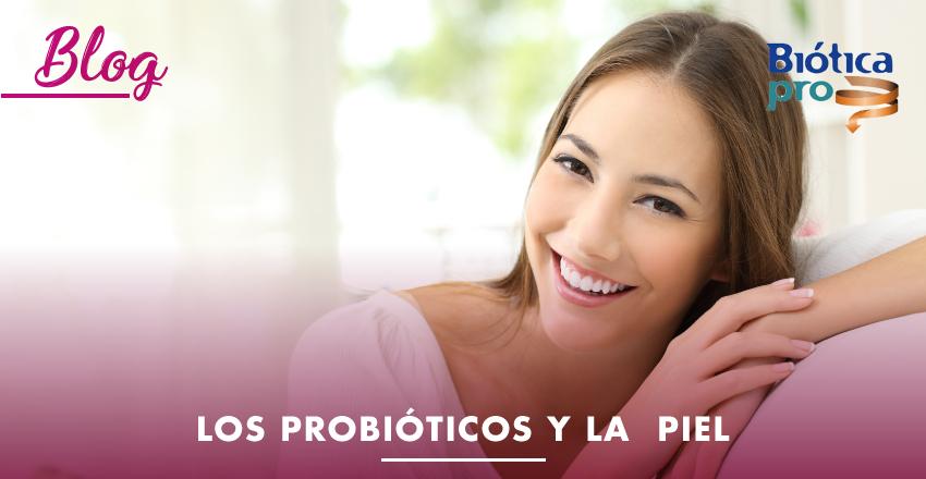 Los probióticos y la piel